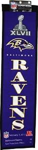 Buy Winning Streak Baltimore Ravens Super Bowl XLVII Champions Banner by Winning Streak
