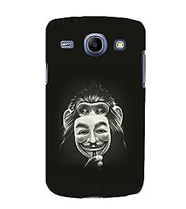 printtech Monkey Anonymous Mask Back Case Cover for Samsung Galaxy E5 / Samsung Galaxy E5 E500F