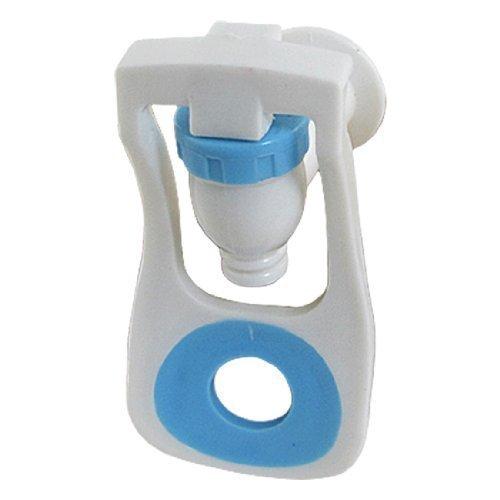 Home Bouton poussoir Distributeur d'eau pour robinet en plastique Bleu/blanc