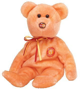 "TY Beanie Baby - MC MASTERCARD Bear ""Anniversary Edition #3"" (Credit Card Exclusive)"