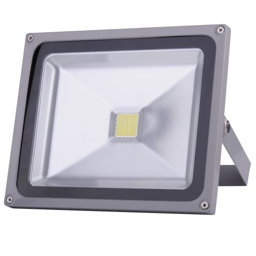 10W 20W 30W 50W 100W Warm White Cool White Outdoor Waterproof Led Floodlight 85-265V And 12V(1 2 3 4 5 8 10Pcs) (1, 30W Cool White)