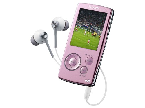 SONY NW-ZA816P Walkman 4 GB MP3 Player - pink
