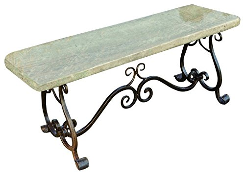 Stone Age Creations BE-ME-JA Granite Melody Bench Jade