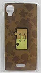 FCS Soft Silicon Designer Back Case for Micromax A102 Canvas Doodle 3