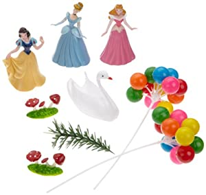 Dekoback 03-08-00043 Tortendeko Set 9-teilig Disney Princess