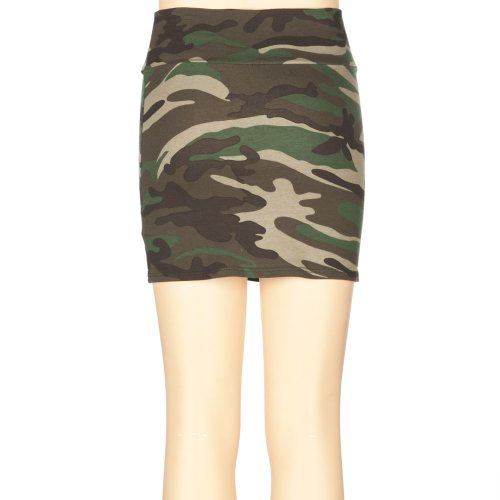 FULL TILT Camo Girls Bodycon Skirt