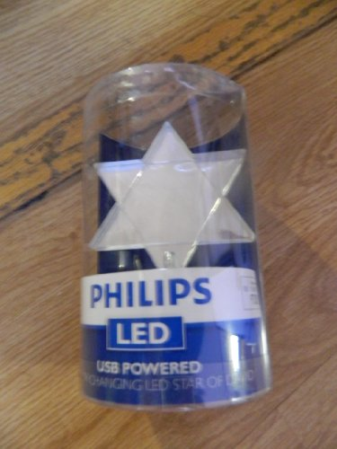 Philips Led Usb Powered Color Changing Star Of David