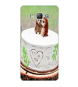 SAMSUNG GALAXY A7 CAKE Back Cover by PRINTSWAG