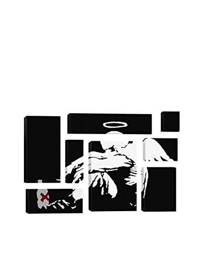 Banksy Drunken Angel #2 8-Piece Giclée On Canvas