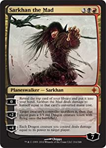 Sarkhan the Mad (Magic the Gathering : Rise of the Eldrazi #214 Mythic Rare)