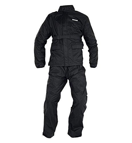 IXS Horton 2 Piece Rain Suit (Black, 5X-Large) (Rain Suit 5xl compare prices)
