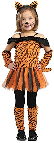 Fun World Costumes Baby Girl's Tigress Toddler Costume