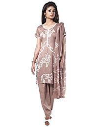 NITARA Women's Cotton Stitched Salwar Suit Sets - B01AJK7DDM
