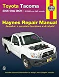 Haynes Toyota Tacoma, 2005 thru 2009 Repair Manual (92077)