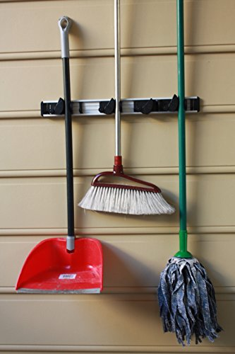 Mop Broom Dusters And Tool Holder For Garage Garden