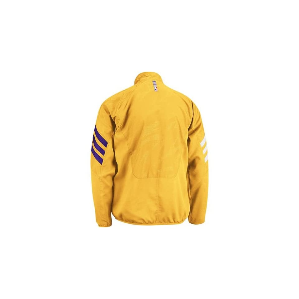Los Angeles Lakers Warm Up Jacket (Gold)