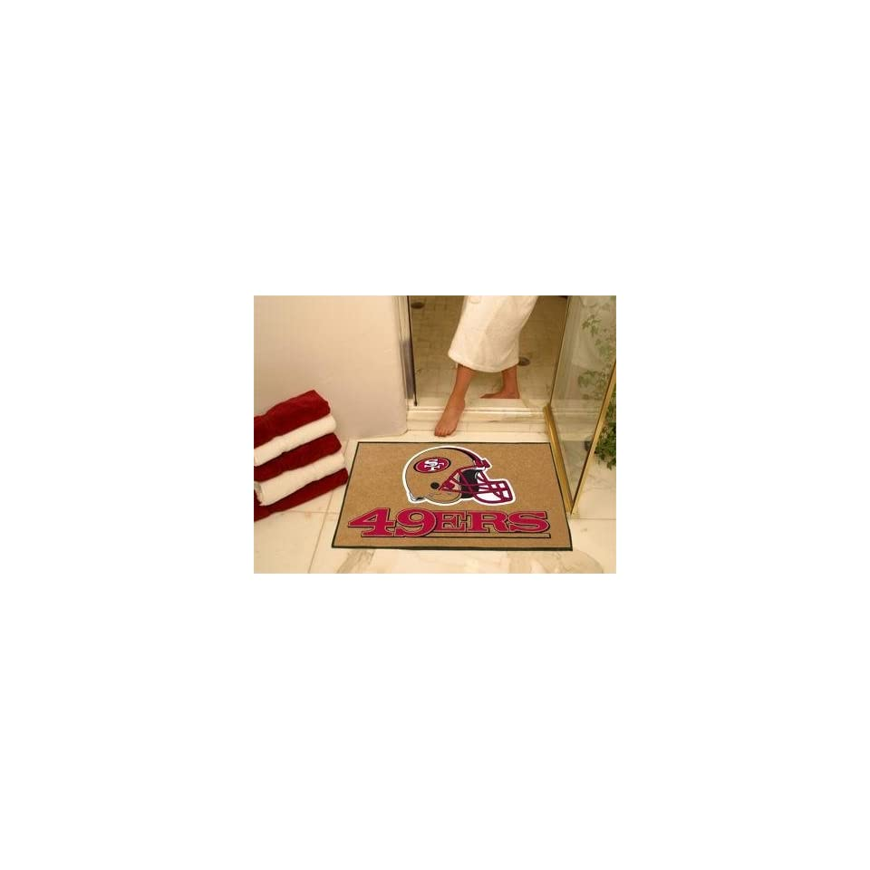 Exclusive By FANMATS NFL   San Francisco 49ers All Star Rug
