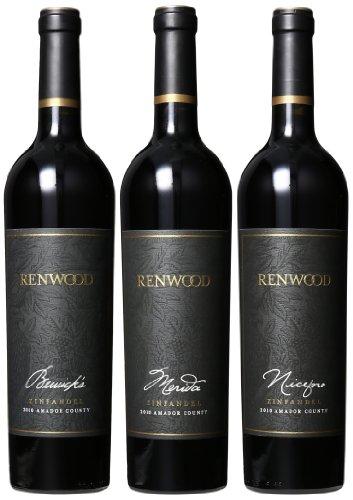 2011 Renwood Winery Merida, Bewicks & Niceforo Mixed Pack 3 X 750 Ml In Gift Box