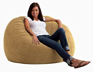Comfort Research 4-Foot Large Fuf in Comfort Suede, Sand Dune