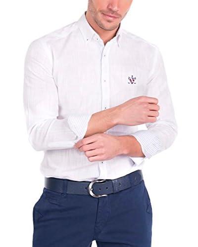 SIR RAYMOND TAILOR Men'S Linen Shirt Couch