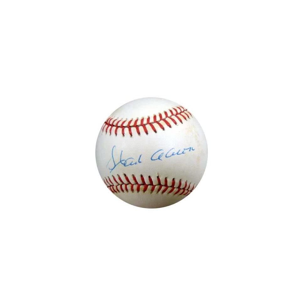 Hank Aaron Signed Baseball   NL PSA DNA #M55613   Autographed Baseballs