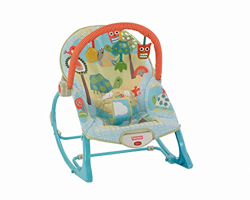 Fisher-Price Infant-To-Toddler Rocker, Turtle