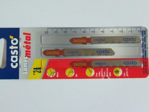3 Stichsägeblätter No.2 T-Schaft für Metall, Bosch Nummer T118BF