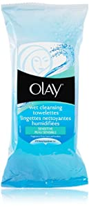Olay Wet Cleansing Towelette - Sensitive 30 Count (Pack of 2)