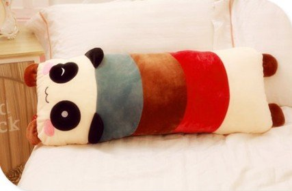 Cartoon Long Body Panda Plush Toys Cute Pillow front-638768