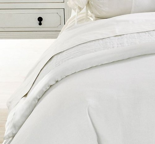 Martha Stewart Collection Moonlight Luster White Full/Queen Coverlet front-1009537