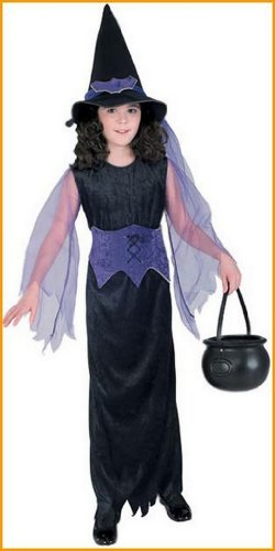 Witch Costumes Mystic Witch Childs Costume SMALL.