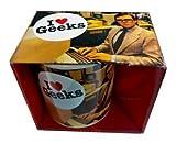 Dean Morris Mug Kaffeebecher I <3 GEEKS