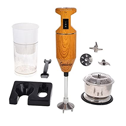Speedway-HB17-Wooden-200W-Hand-Blender-With-Attachments