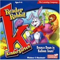 New Learning Company Reader Rabbit Kindergarten Balloon Town Recognizing Numbers Counting Objects