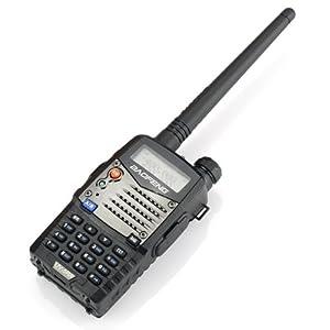 Baofeng Radio Emisor-Receptor UV-5RA 136-174/400-480 MHz Dual-Banda DTMF CTCSS DCS FM 5W Amateur WalkieTalkie Transceptor - 2013 Ultima Version con Caracteristicas Mejoradas