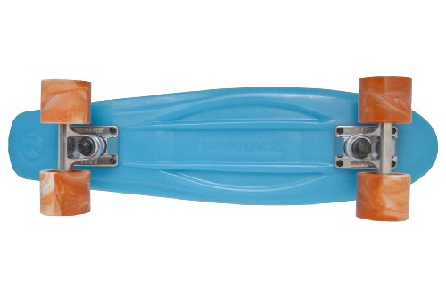 Kryptonic Kryptonic Torpedo Skateboard Retro, Blue Translucent