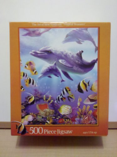 "The Art of Steve Sundram ""Magical Treasures"" 500 Pc Jigsaw Puzzle - 1"