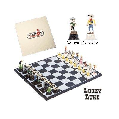 Plastoy Jeu d'échecs Lucky Luke