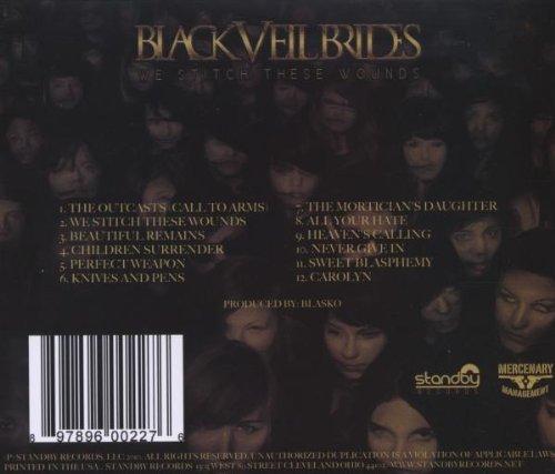 Black Veil Brides Black Veil Brides Album Black Veil Brides we Stitch
