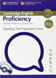 University of Cambridge English for Speakers of Other Languages Speaking Test Preparation Pack for Cambridge English Proficiency for Updated Exam with DVD