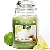 Yankee Candle Housewarmer Jar (Vanilla Lime) Small (3.7 oz)