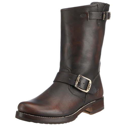 Frye Women's Veronica Shortie VBO Boot Brown 77511BRN9 7 UK,40 EU