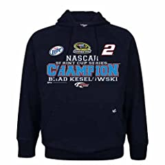 Buy #2 Brad Keselowski Nascar Sprint Cup Champion Hooded Fleece Xxl Zch1207005 by Brickels