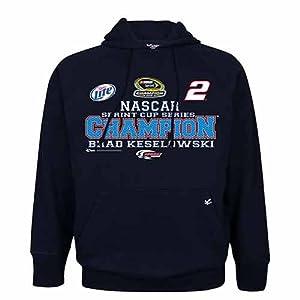 Buy #2 Brad Keselowski Nascar Sprint Cup Champion Hooded Fleece M Zch1207003 by Brickels