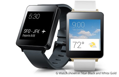 LG G Watch- Black
