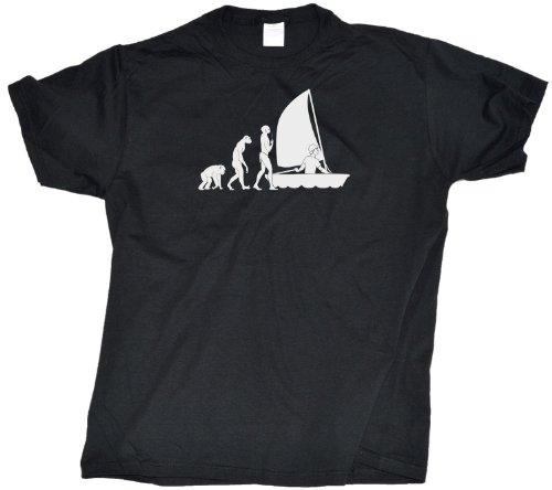 Sailing Evolution Adult Unisex T-Shirt / Funny Sailing Tee