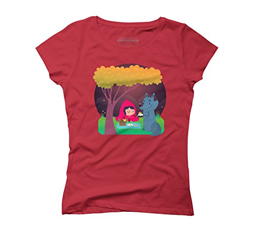 picnic-time-womens-2x-large-red-graphic-t-shirt-design-by-humans