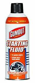 Gumout 5072866 Starting Fluid - 11 oz.