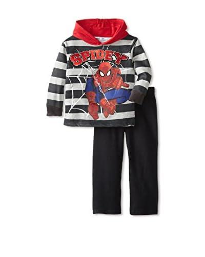 Marvel Little Boys' Spiderman 2-Piece Hoodie Set