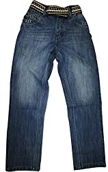 Topchee Kids' Jeans (JNK-03_Blue_3 to 4 Years)